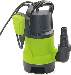 FLUENTEC Bomba sumergible eléctrica con interruptor de flotador y Max Flow8000L/H bomba de agua sucia/limpia