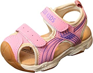 Childrens Girls Bow Velcro Slip Princess Sandals Casual Shoes,15 Months-12 Years,SIN vimklo