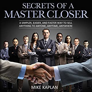 Secrets of a Master Closer audiobook cover art