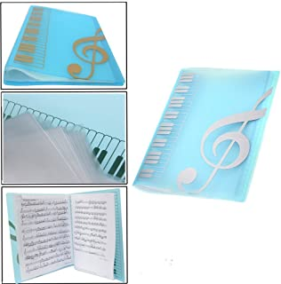 Music folder piano score folder Music folder storage Holder A4 Size Folder,40 Pockets Chorus dedicated Sheet Music Folder