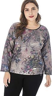 Women's T Shirt,Women's Printing T Shirt Women's Plus Size Round Neck Shirt Casual And Comfortable Women's Tops