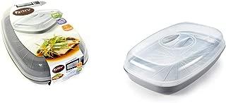 Microwave BPA Free Fish Steamer