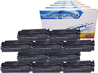 Inktoneram Compatible Toner Cartridges Replacement for HP C7115A 15A 3330 3330 MFP 3380 1000 1200 1200n 1200se 1220 1220se 3300 3310 3310MFP 3320 3320 MFP 3320n 3320n MFP (Black, 10-Pack)