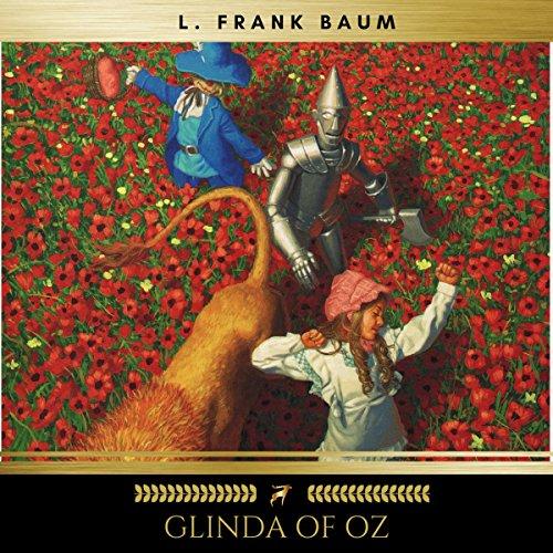 Glinda of Oz audiobook cover art
