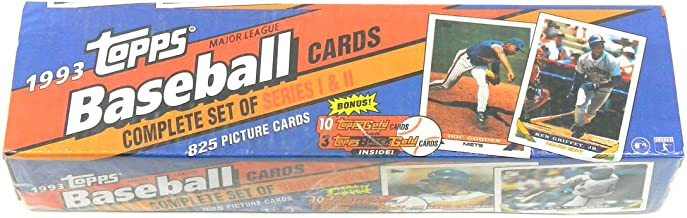 1993 Topps Baseball Factory Set (825) Jeter RC plus 13 Bonus Cards