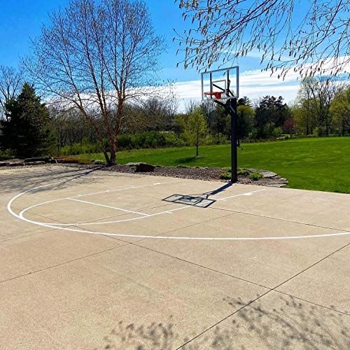 Ronan Sports Complete Easy Court Basketball Stencil Kit | Spray Box | Made in USA (No Paint Included)