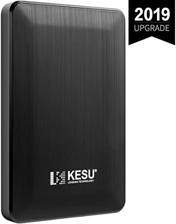 "KESU 2,5"" 320GB Ultra Slim Hard Disk Esterno Portatile USB3.0 SATA HDD Storage per PC, Mac, Desktop, Laptop, MacBook, Chromebook, Xbox, PS4 (Nero) - Confronta prezzi"
