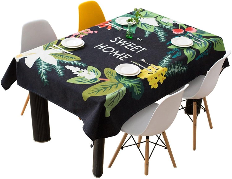 envío gratuito a nivel mundial El mantel de de de lino de algodón rectangular simple se puede utilizar para el paño de la cubierta del polvo ( Talla   140200cm )  preferente