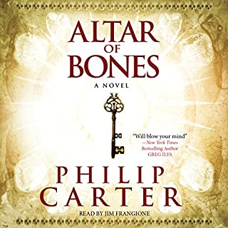 The Altar of Bones audiobook cover art
