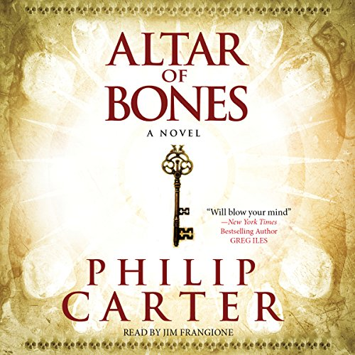 The Altar of Bones                   By:                                                                                                                                 Philip Carter                               Narrated by:                                                                                                                                 Jim Frangione                      Length: 17 hrs and 5 mins     101 ratings     Overall 3.7