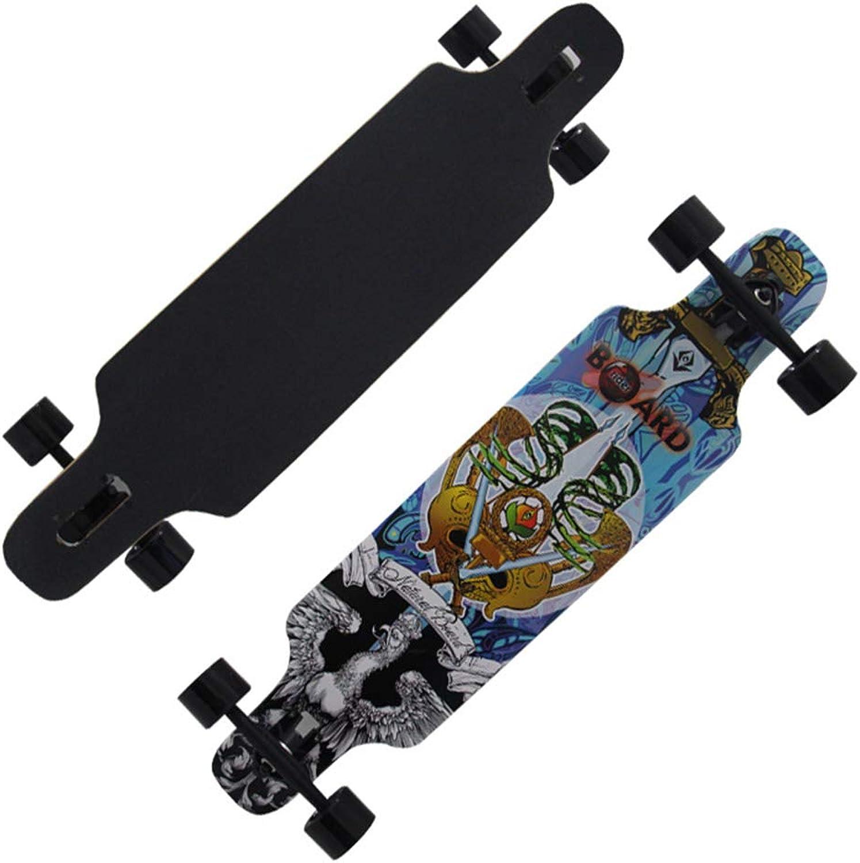 Skateboard, Anfänger Anfänger Anfänger Highway Brush Street Dance Board Teenager Vier Rollschuh B07NL2ZTLT  König der Quantität fac94b