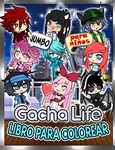 Gacha Life Libro Para Colorear: Gacha Life Para Niños Y Adultos: Revela Impresionantes Imágenes No Oficiales