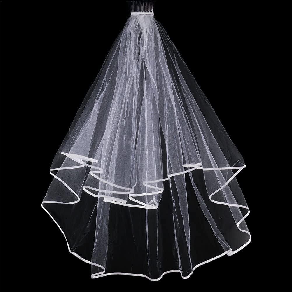 HAPPYLAND Super Attractive Bachelorette Sash & Veil Lace Veil with Sash Lace Party Wedding Decorations. Bridal Shower. Hen Party Supplies