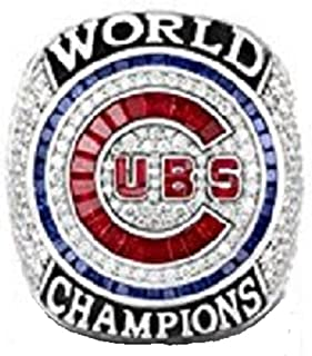 Cubs 2016 Chicago World Champions Ring Replica Size 11 Bryant