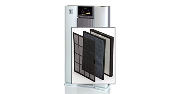 Replacement for Air Wellness Air Filter Purifier System 1390 1389 Nikken Power5 1 HEPA Filter Pack Air Conditioners Reduce Dust Maintain Clean Dirt Cooling Indoor Atmosphere Furnace Systems 01389