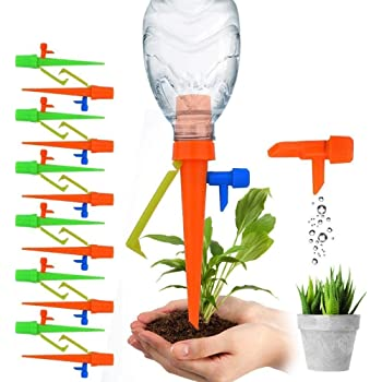 12x Automatic Watering Spike Irrigation Plant Garden Drip Water FREE POSTAGE