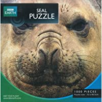 BBC Earth - Seal Puzzle - Phoque - Puzzle 1000 Pièces - 73x48,5 cm (Import Royaume-Uni)