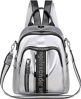 TEBIEAI Damen Rucksack Handtaschen Elegant Anti Diebstahl Frau Stadtrucksack Henkeltaschen Tagesrucksack TEDE83068