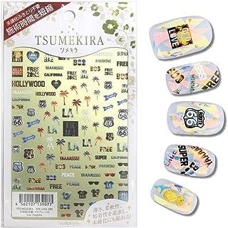 TSUMEKIRA Miho Okawara Product1 Los Angeles Nail stickers gel art nail art design Japan Product