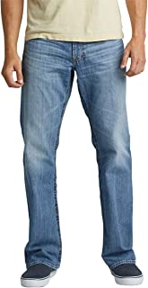 Silver Jeans Co. Men's Zac Relaxed Fit Straight Leg Jeans