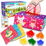 Innofans Montessori Sensory Toys for Babies - Magic Tissue Box Baby Toy 0 3 6 9 12 Months Infant Play Scarves for Toddlers Colorful Soft Scarf Box Busy Pull Tissues Activities Gift for Preschool Toys
