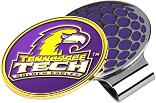 LinksWalker NCAA Tennessee Tech Golden Eagles Golf Hat Clip with Ball Marker