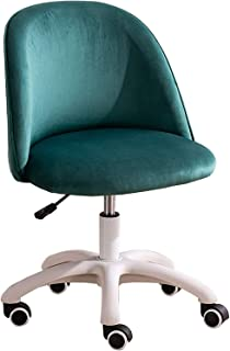 Sillas De Escritorio De Oficina, Sillas de escritorio de oficina en el hogar, sillas de escritorio con franela amigable for la piel, sillas de escritorio de oficina enrollables ajustables con ruedas f