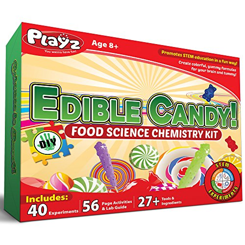 Playz Edible Candy Food Science Chemistry Kit