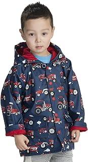 Hatley Little Boys' Printed Rain Jacket