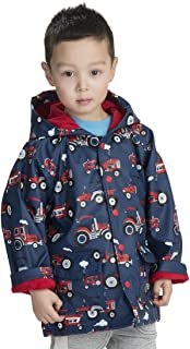 hatley farm tractors raincoat