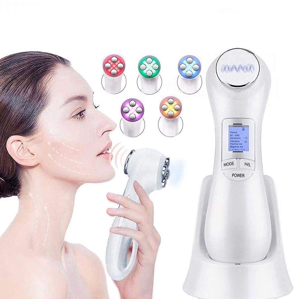 ダイヤモンド安定運命的な機械をきつく締める皮、1つのRF EMS療法のしわに付き顔の持ち上がるボディ形削り盤機械6つは反老化のアクネの美装置を取除きます