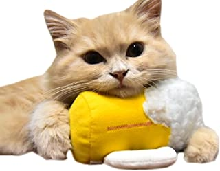 [Daish] 猫 おもちゃ 猫用品 猫ビール 猫グッズ ネコ おもちゃ キャットニップ入り