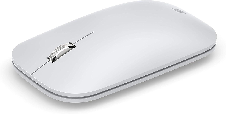 Microsoft Modern Mobile Mouse - Ratón portátil, Color Blanco