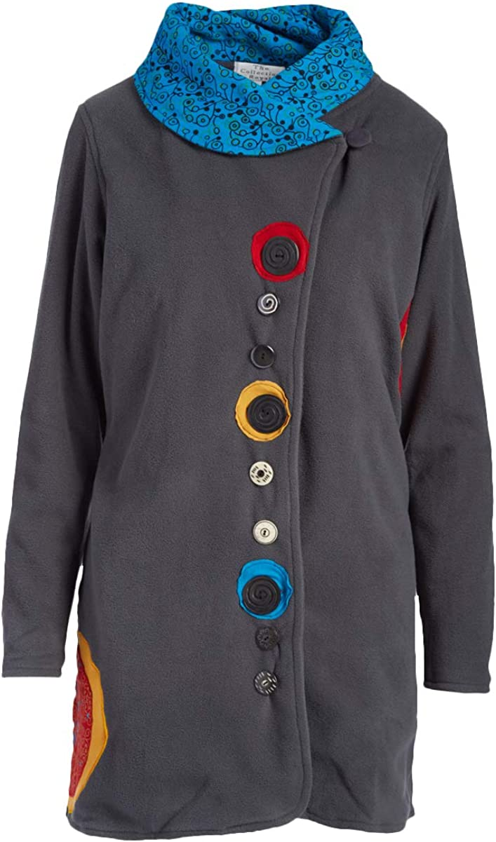 THE Direct sale of manufacturer COLLECTION ROYAL Classic Funnel Fleece Jacket Collar
