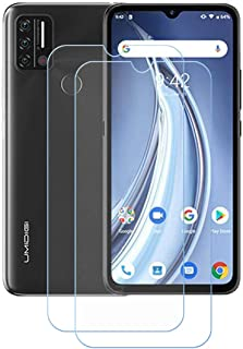 FZZ (2-Pack) Screen Protector for Umidigi A9, Anti Scratch 9H Hardness Protective Film Premium HD Clarity Tempered Glass F...