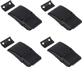 Katigan 4 Stks A27 Zwart Verborgen Toggle Geladen Vangklem voor Case, Toolbox, Cleaner, Cabinet Boxes
