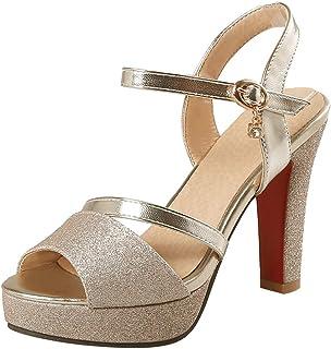 fb432669 Amazon.es: 34 - Zapatos de tacón / Zapatos para mujer: Zapatos y ...