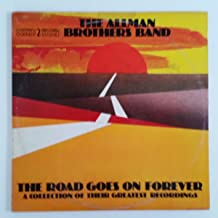 ALLMAN BROTHERS Road Goes On Forever LP Vinyl VG+ Cover VG+ GF 2CP 0164