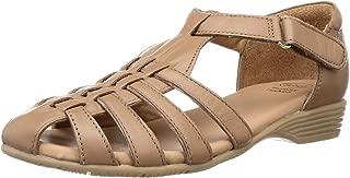 Scholl Women's Macey Fisherman Leather Fashion Sandals