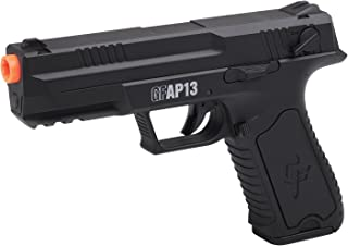 GameFace GFAP13 AEG Electric Full/Semi-Auto Airsoft Pistol With Battery Charger, Speed Loader And Ammo, Black