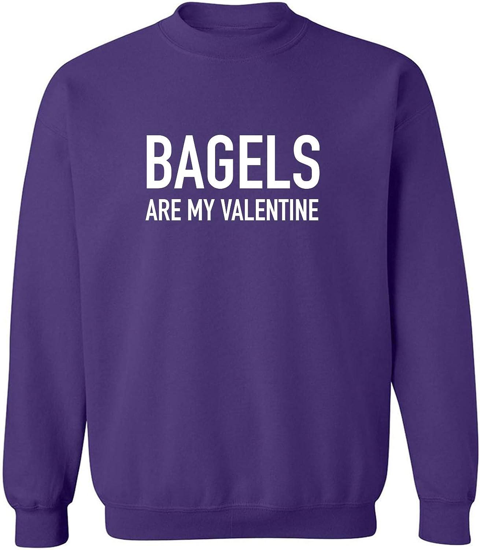 Bagels Are My Valentine Crewneck Sweatshirt