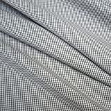 Stoff am Stück Stoff Baumwolle Vichy Karo klein braun