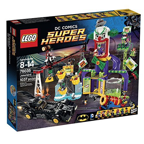 LEGO Super Heroes 76035 Jokerland Building Kit
