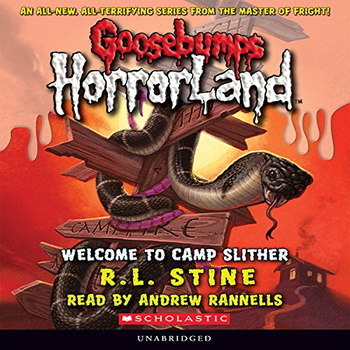 Goosebumps Horrorland, Book 9 audiobook cover art
