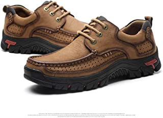 VHBSDINE Men Shoes Leather Men Flats Outdoor Men Sneakers Male Casual Shoes