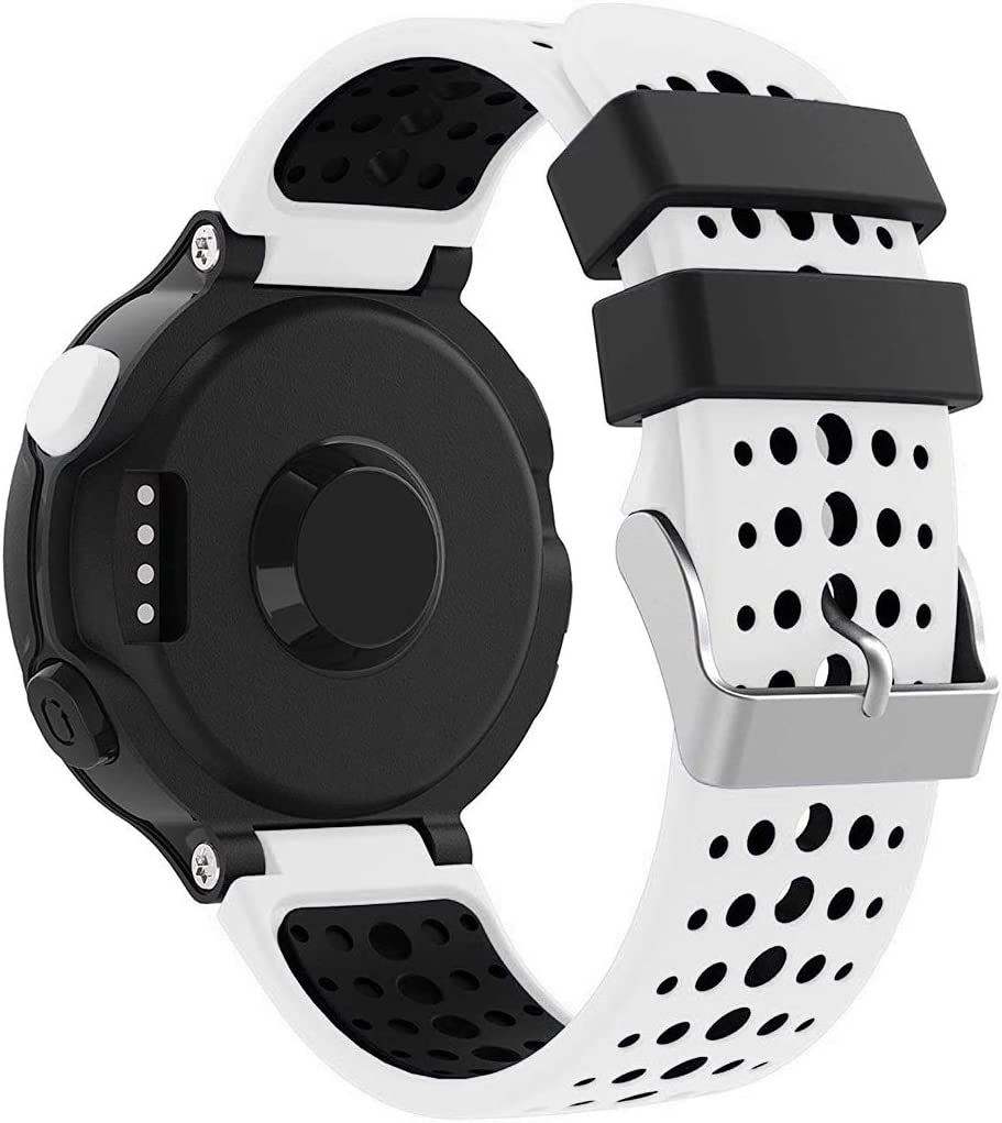 Syxinn Compatible con Correa Forerunner 235, Banda de Reloj de Reemplazo Silicona Suave Sports Pulsera para Forerunner 235/735XT/220/230/620/630