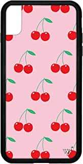 Wildflower Limited Edition iPhone Case for iPhone Xs Max (Pink Cherries)