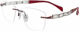 Charmant Line Art Women's Eyeglasses XL2107 XL/2107 Rimless Optical Frame 51mm