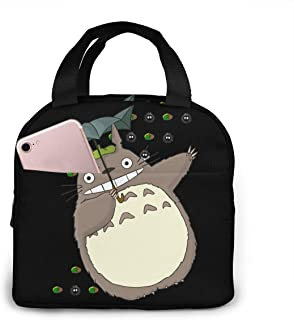 Lunch Bags For Men Women, Totoro Insulated Durable Lunch Box Tote Bag Cooler Bag For Work School Picnic Travel Beach