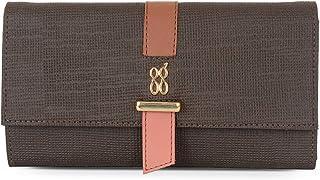 Baggit Autumn-Winter 2020 Faux Leather Women's Harmonium Wallet (Brown) (Lwxe Snowdrop)